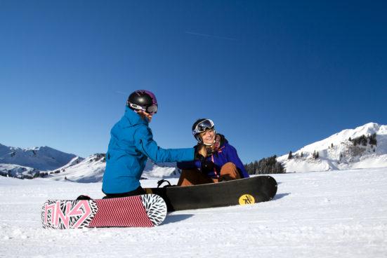 Школа инструкторов по сноуборду